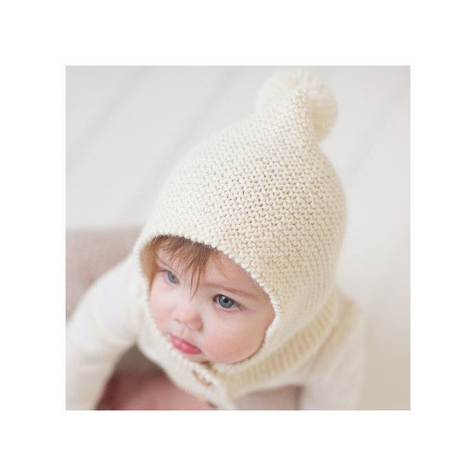 Natural white Colette Hood