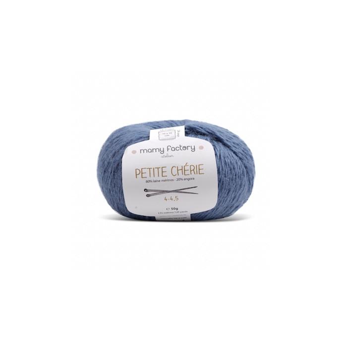 Pelote de laine Petite Chérie - BLEU OCEAN