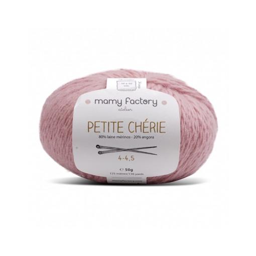 Pelote de laine Petite Chérie - VIEUX ROSE
