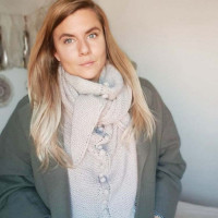 Knitting Kit - Alba Shawl