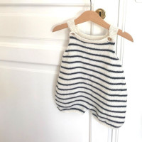 Modele tricot PDF - Salopette Arthur