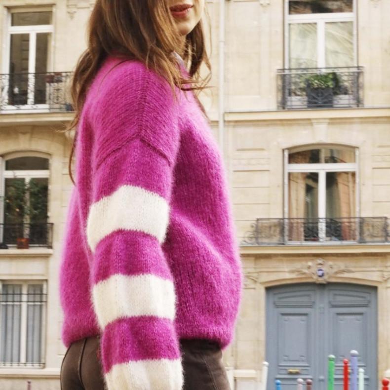 Modèle tricot PDF - Pull Sophie