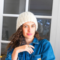 Modele tricot PDF - Bonnet Lara