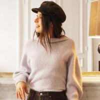 Modele tricot PDF - Pull Elena