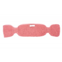 Léontine scarf for baby - candy pink color