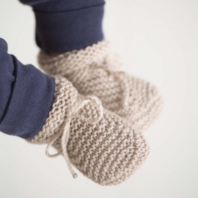 Kit tricot - Chaussons Marcelline