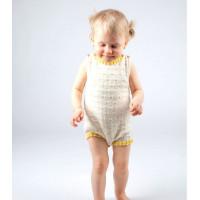Modèle tricot PDF - Combinaison Mia