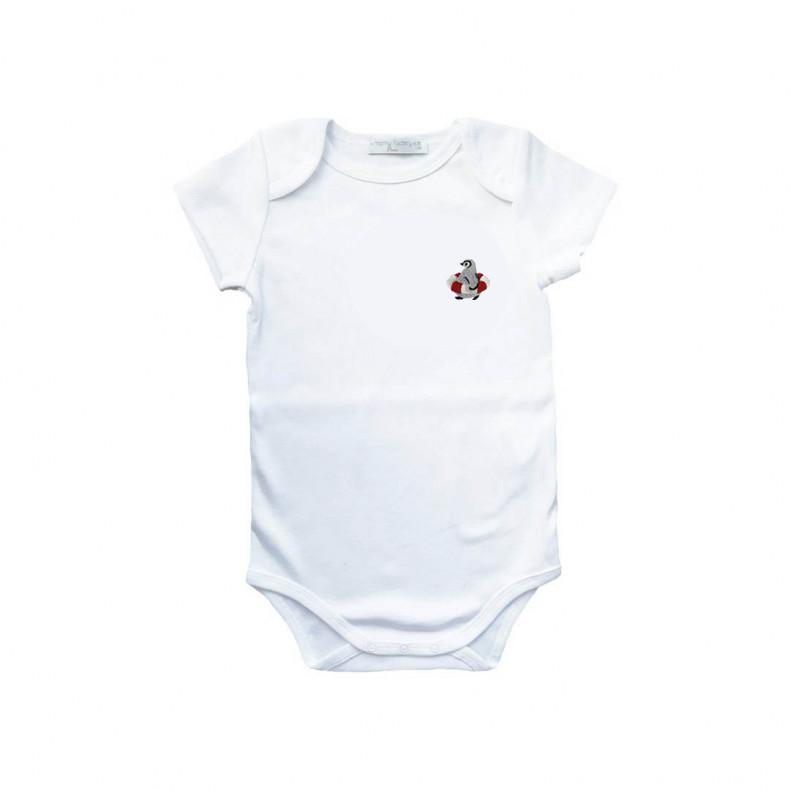 Embroidered Baby Onesie