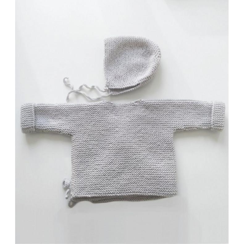 Modèle tricot PDF - Brassière Alix