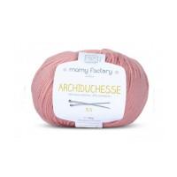 Pelote de laine Archiduchesse - VIEUX ROSE