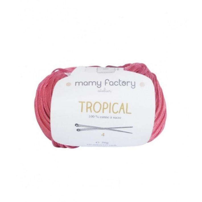Pelote de laine Tropical  - ROSE MAGENTA