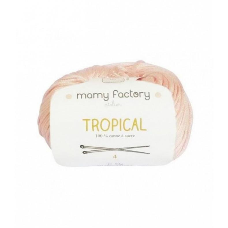 Pelote de laine Tropical  - Rose Pale