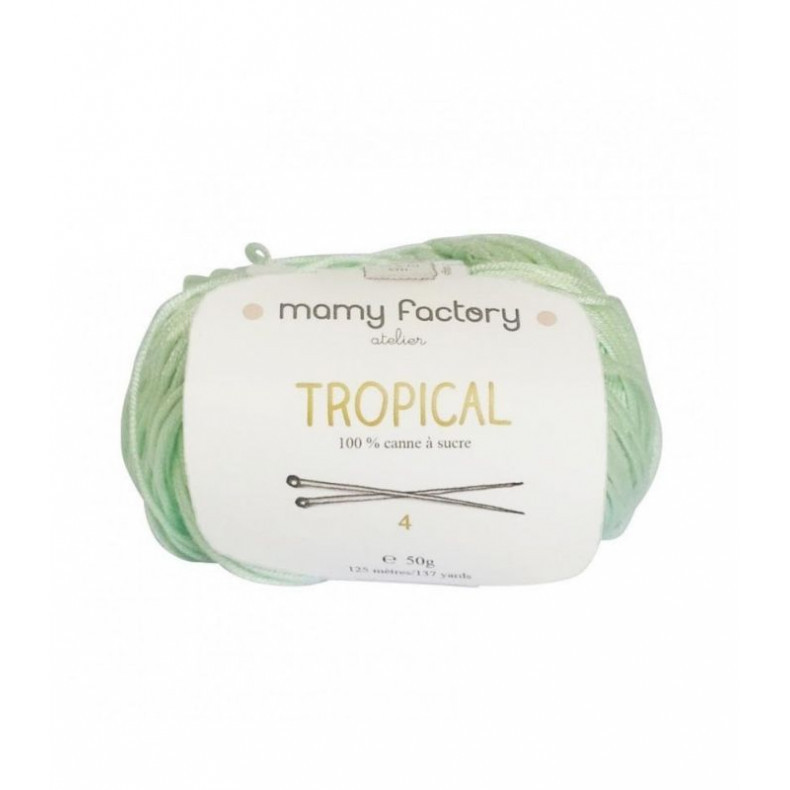 Laine naturelle Tropical - Mamy Factory