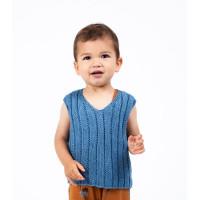 Modèle tricot PDF - Debardeur William