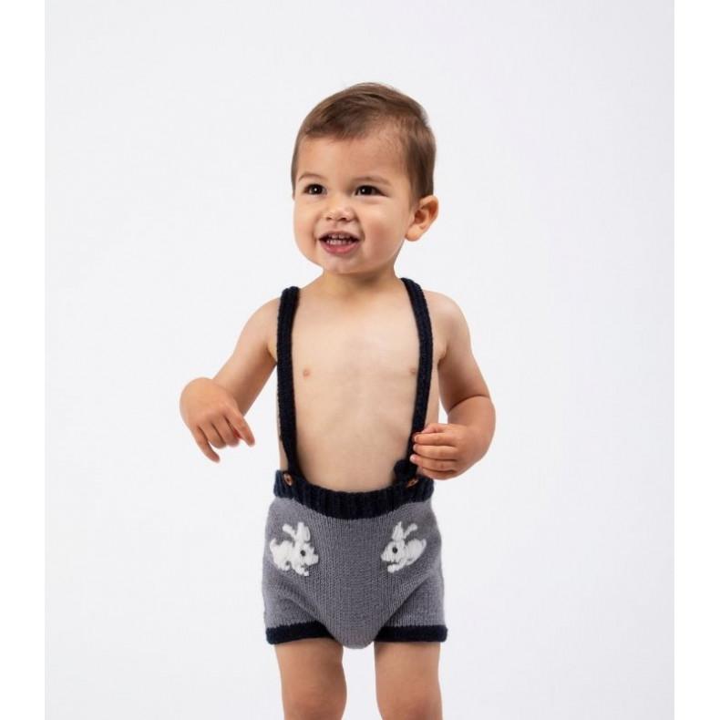 Modèle tricot PDF - Short Teo