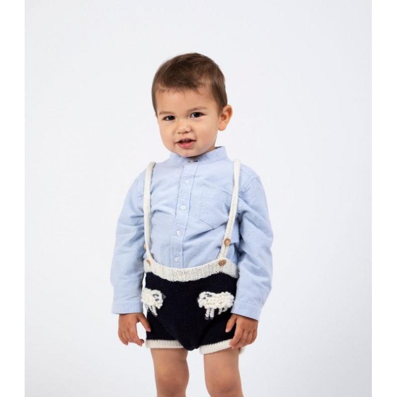 Modèle tricot PDF - Short Jules