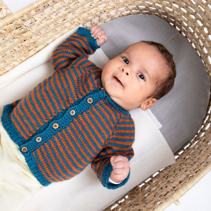 Pattern Harry cardigan