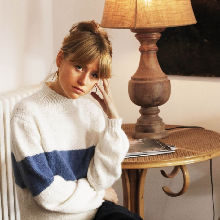 Modele tricot PDF - Pull Camille