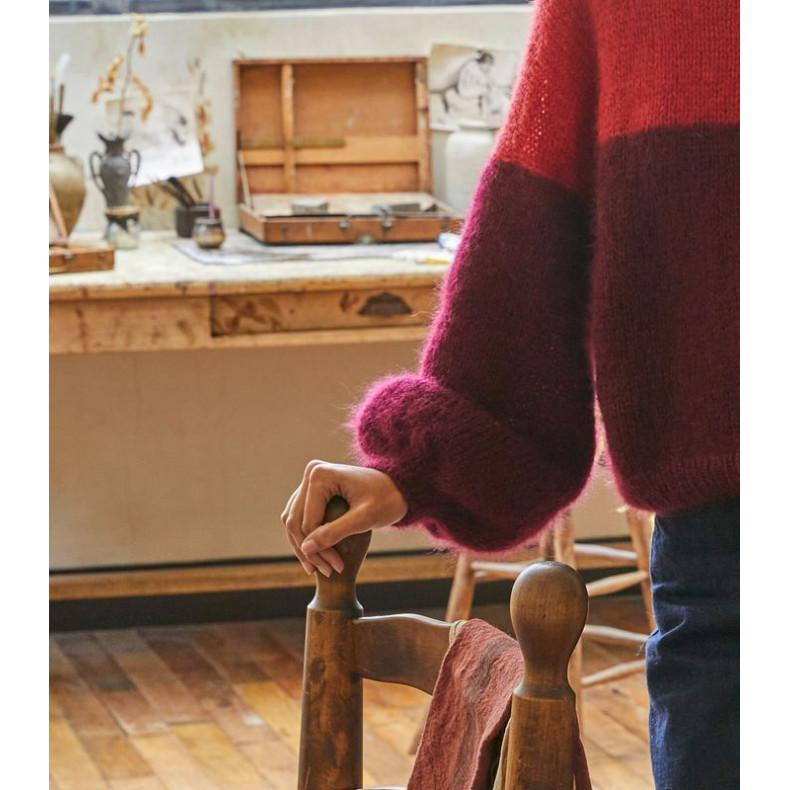 Modèle tricot PDF - Pull Stella