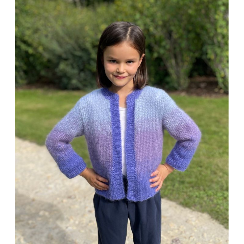 Kit tricot - Gilet Clara