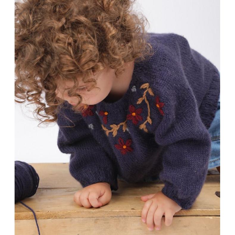 Modèle tricot PDF - Pull Leonor