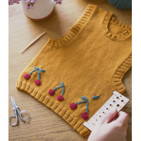 Pattern in French Emilie sweater