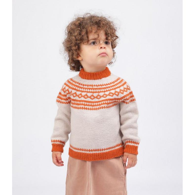 French PDF pattern Edgar Sweater