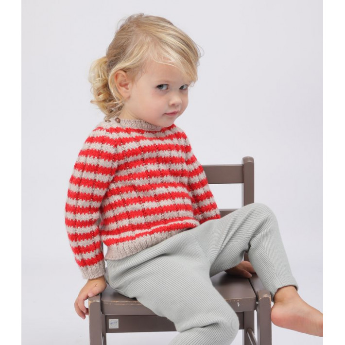 Knitting pattern PDF - Andrea sweater