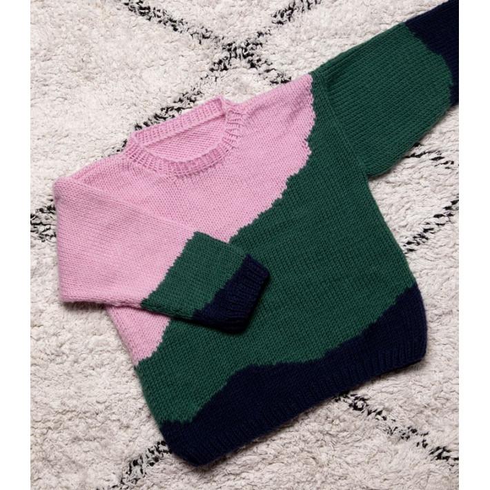 Modèle tricot PDF - Pull Isaure