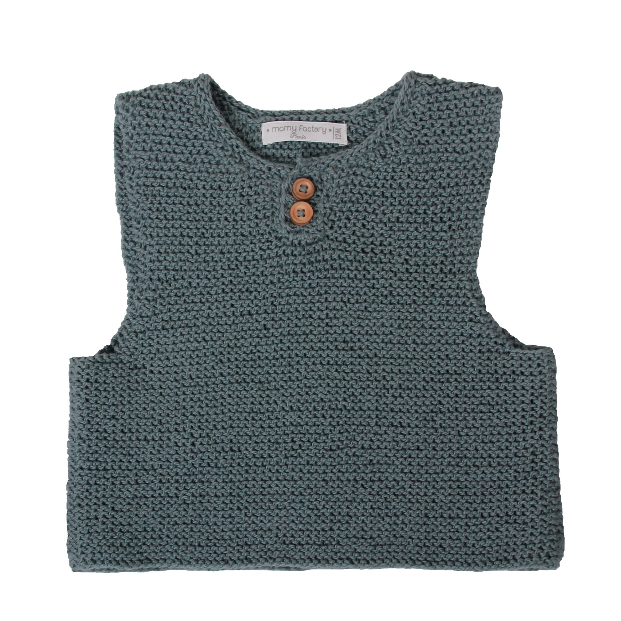 5a7b462f2f Little jade tank top jumper for baby   kid. Hand knitted from cotton