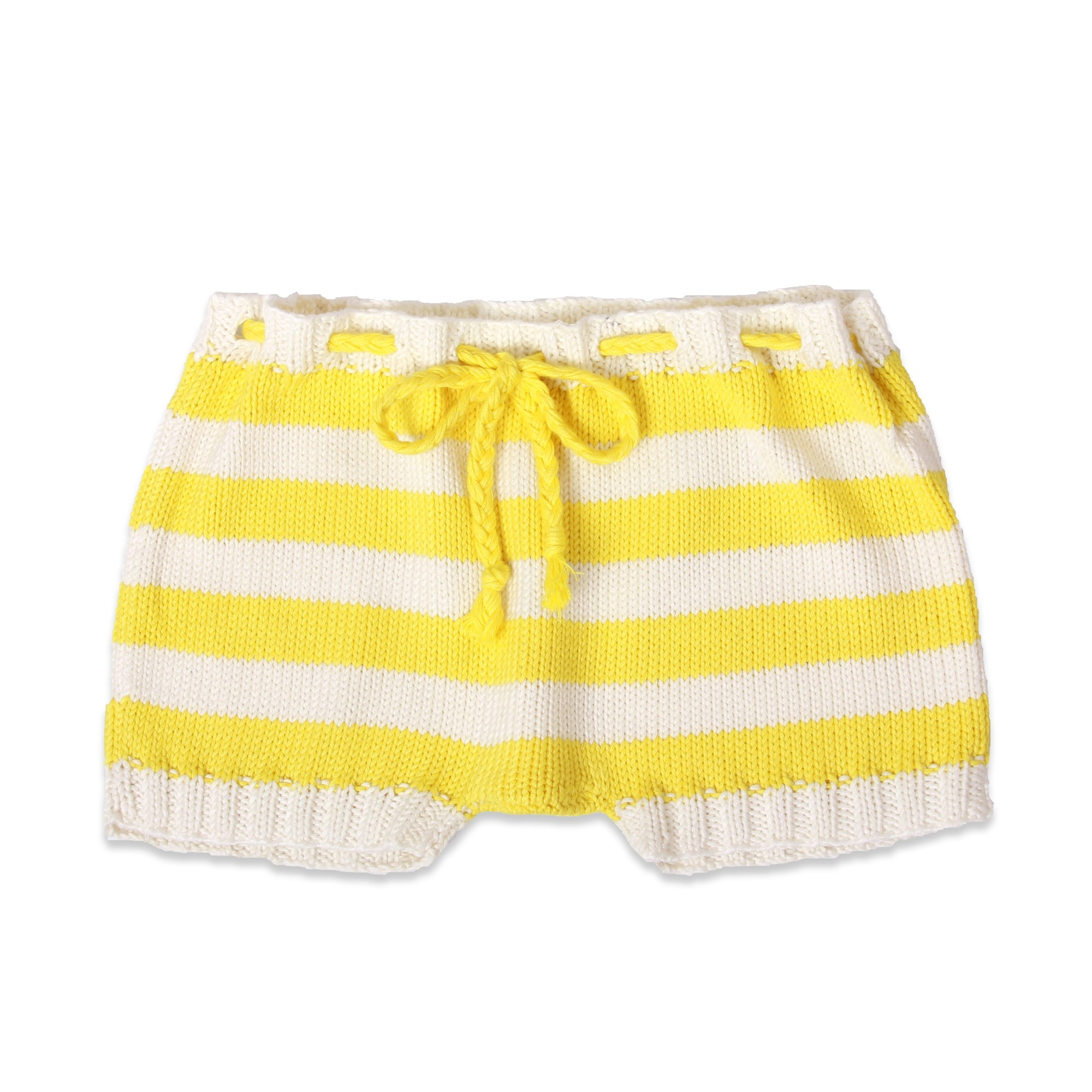 8592e444dac7 Baby pair of toddlers  shorts knitted by our grannies bamboo   cotton.