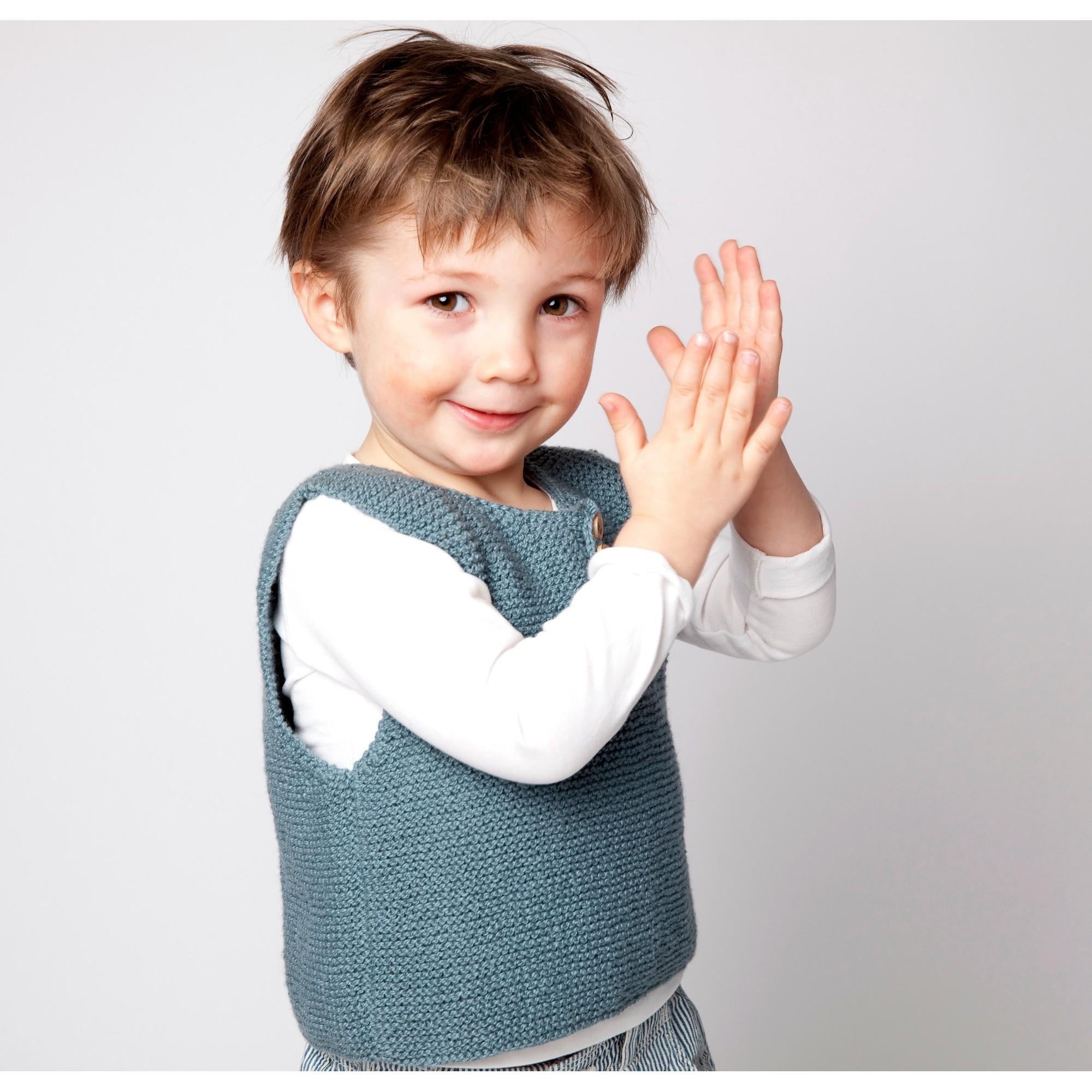 D bardeur couleur jade pour b b et enfant tricot en coton - Couleur pour bebe garcon ...