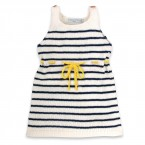 Honorée Dress yellow belt for kids