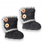 Baby boots made from wool