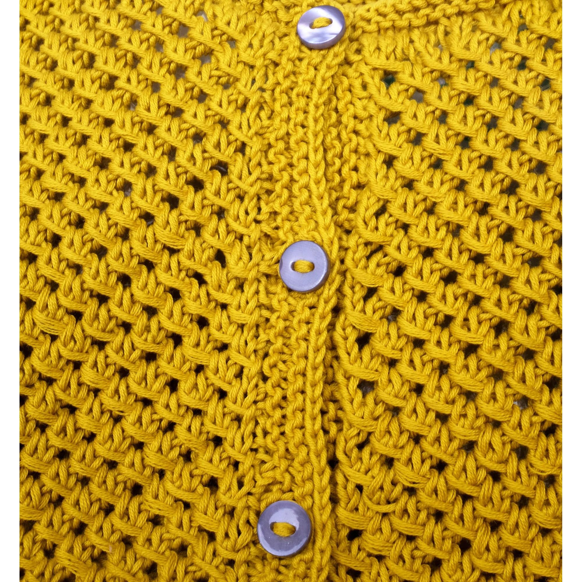 les tricots de mamy gilet de couleur curry pour enfant 100 coton mamy factory. Black Bedroom Furniture Sets. Home Design Ideas