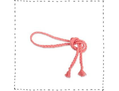 Plaited belt pink accessories fashion kid