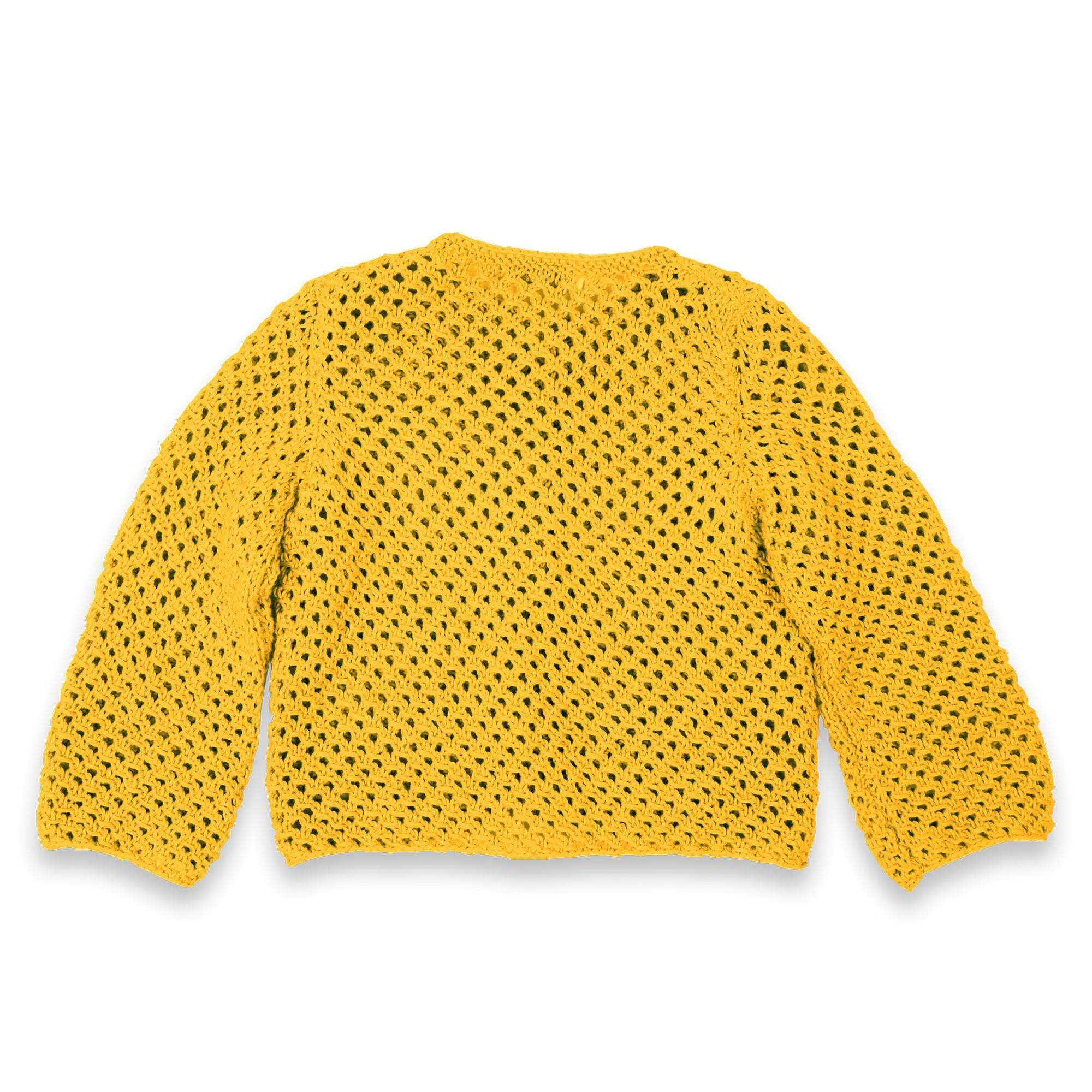les tricots de mamy gilet de couleur curry pour b b 100 coton mamy factory. Black Bedroom Furniture Sets. Home Design Ideas