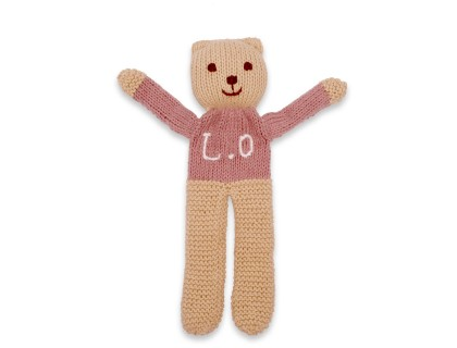 Customizable teddy bear sandalwood cotton cashmere