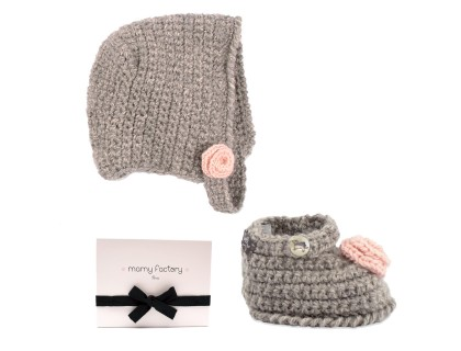 http://www.mamyfactory.com/3295-thickbox/gift-box-for-baby-with-knitted-marie-rose-bonnet-slippers-decorated-with-a-delicate-rose-pearl-buttons.jpg