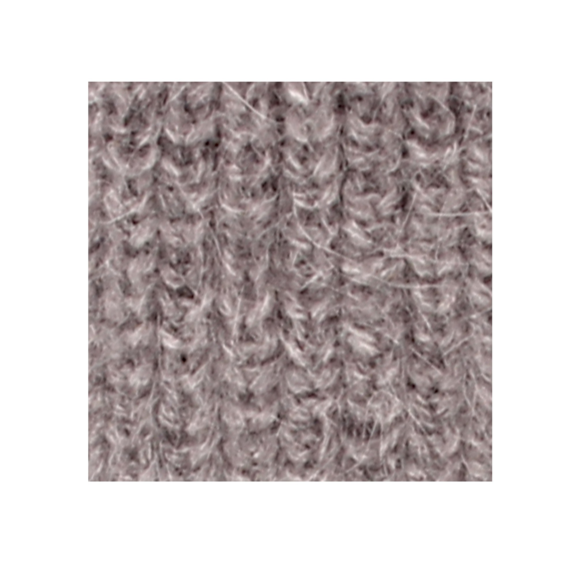Bonnet Fernand pour bébé - coloris gris et rose - detail