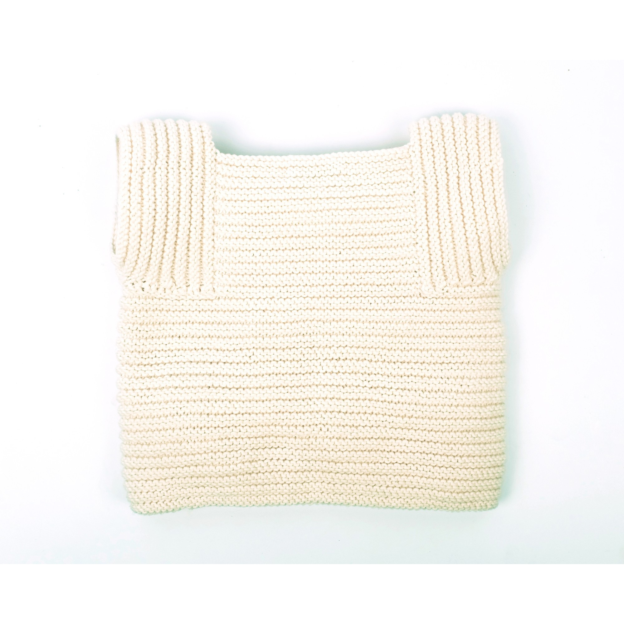 Edgar Cardigan for baby - natural white - the back