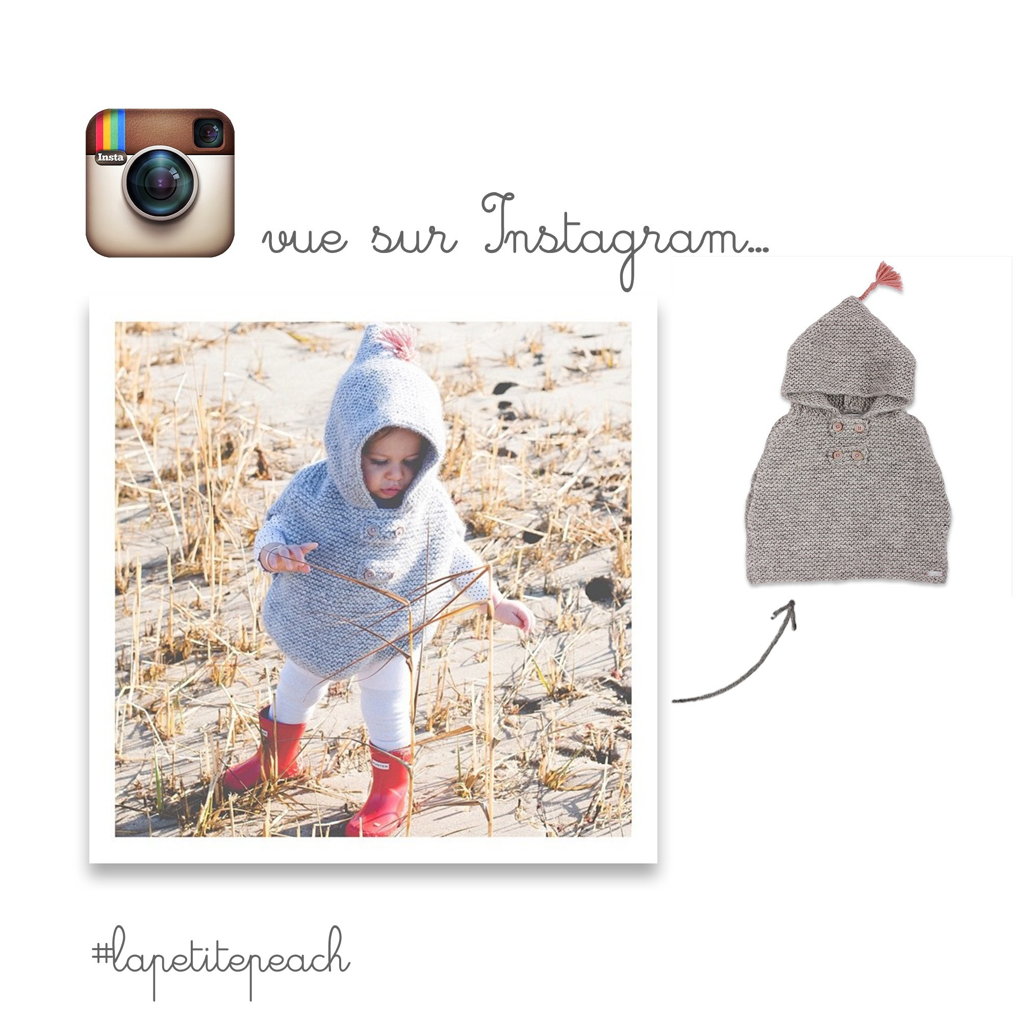 Florentine cape seen in Instagram