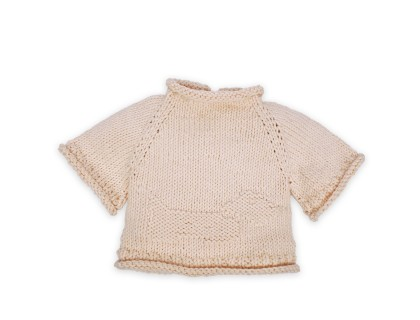 Pull Germain pour bébé - coloris écru - en coton