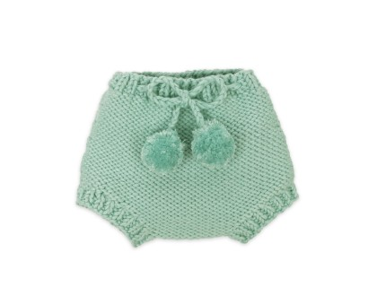 Germain bloomer for baby - mint blue color - made from cotton