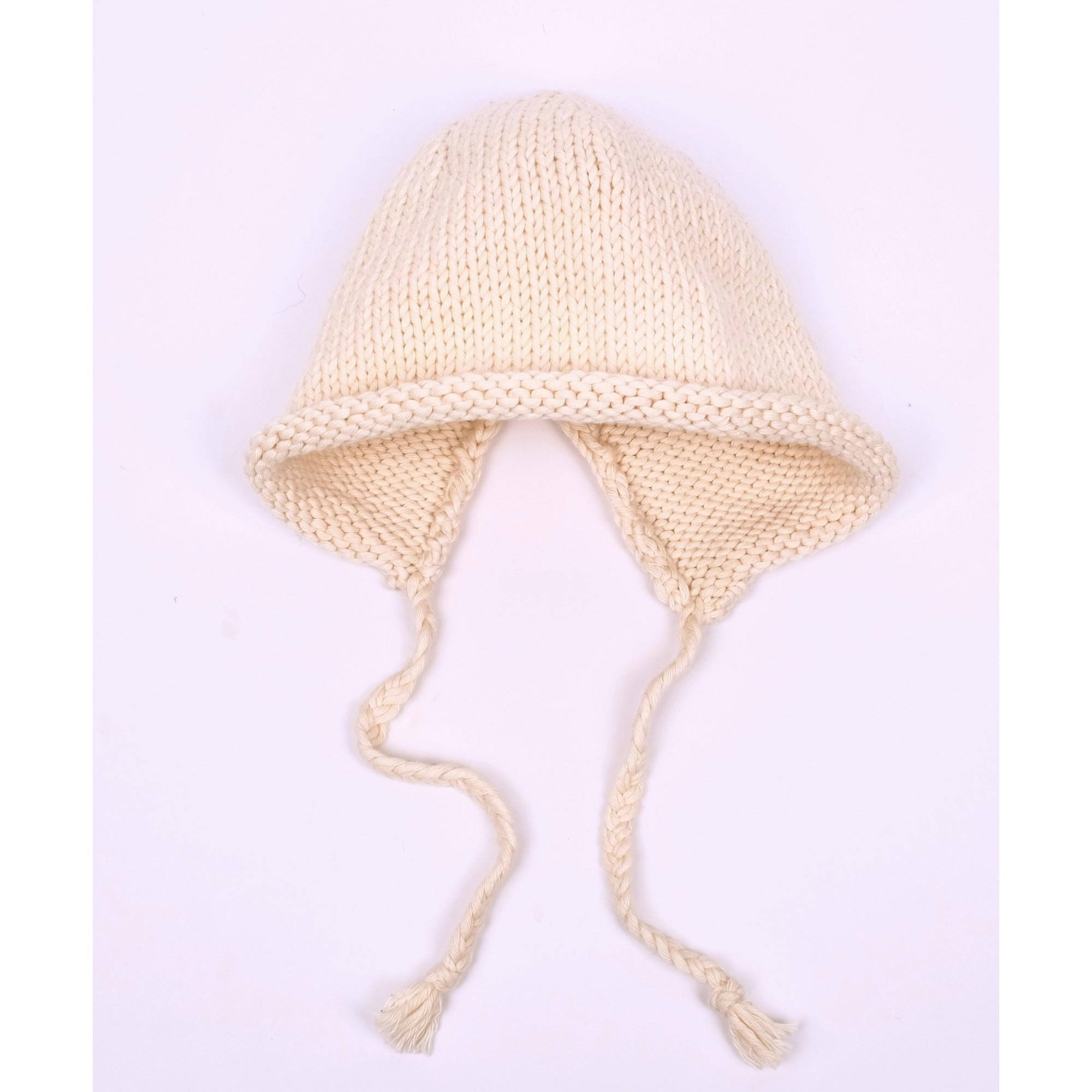 Germain Bonnet for baby - natural white color - front view
