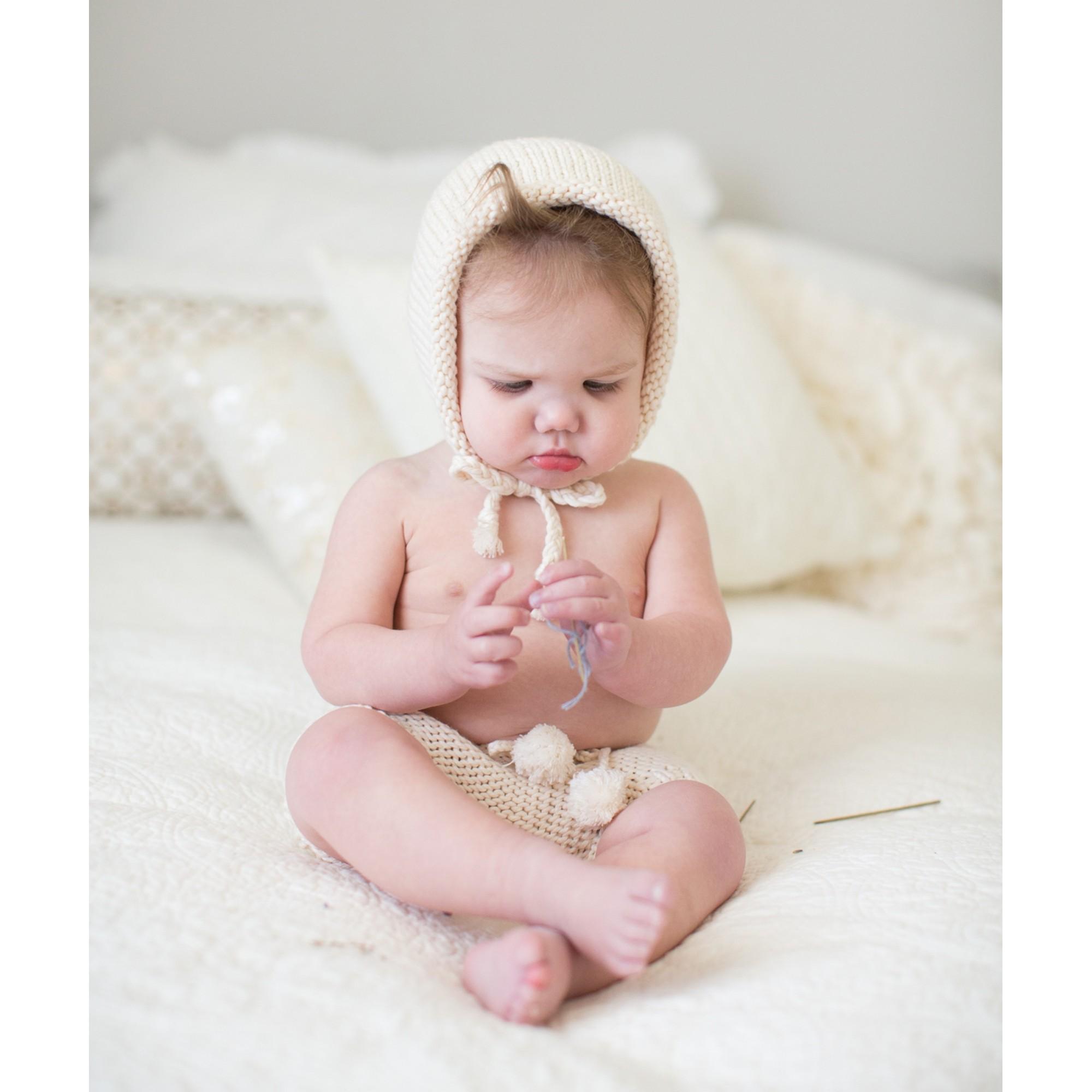 Bloomer Germain pour bébé - en coton - porté