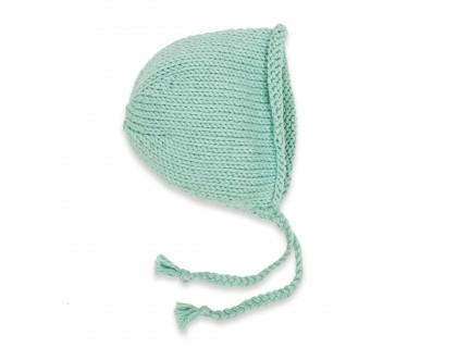 Béguin Germain pour bébé - coloris bleu menthe - en coton