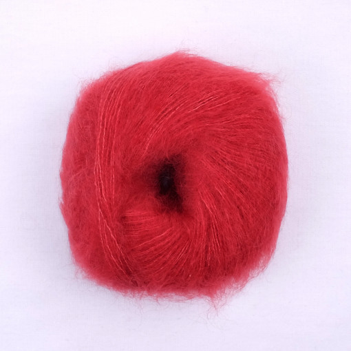 Laine naturelle Merveilleuse - Mamy Factory - Rouge