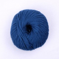Laine naturelle Tara - Mamy Factory - Bleu canard