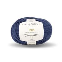 Laine naturelle Tara - Mamy Factory - Bleu jean